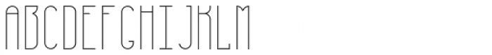 Furunkel Filling Thin Font LOWERCASE