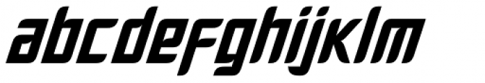 Fury Bold Font LOWERCASE