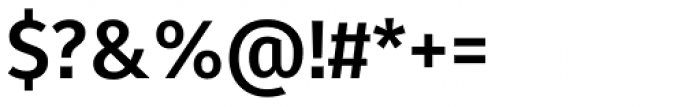 Fuse Bold Font OTHER CHARS