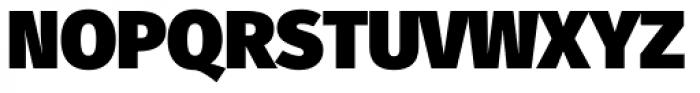 Fuse UltraBlack Font UPPERCASE