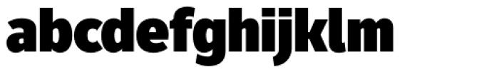 Fuse UltraBlack Font LOWERCASE