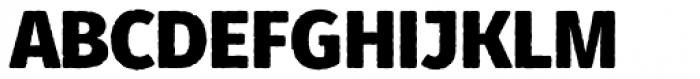Fuse V.2 Printed Display Black Font UPPERCASE