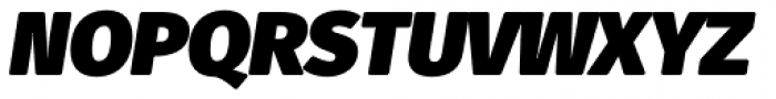 Fuse V.2 Text Ultra Black Italic Font UPPERCASE
