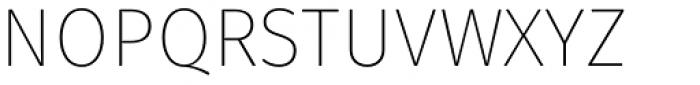 Fuse V.2 Text-Ultra Light Font UPPERCASE