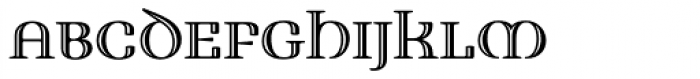 Fusion Engraved Font UPPERCASE