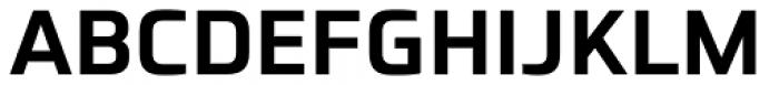 Futo Sans Bold Font UPPERCASE