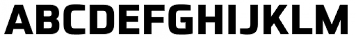 Futo Sans Heavy Font UPPERCASE