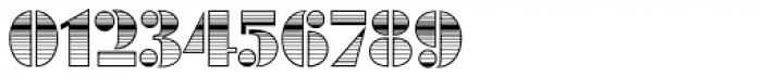 Futura Black Art Deco Horizont D Font OTHER CHARS