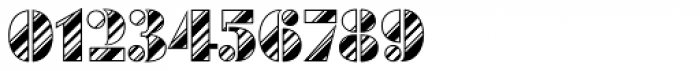 Futura Black Art Deco Stripes Dia D Font OTHER CHARS