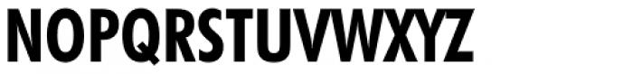 Futura Bold Condensed Font UPPERCASE