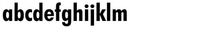 Futura Bold Condensed Font LOWERCASE