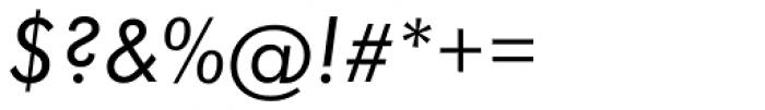 Futura Book Italic Font OTHER CHARS