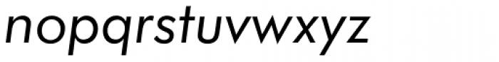 Futura Book Italic Font LOWERCASE