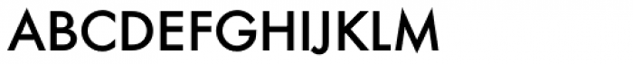 Futura DC D Book Font LOWERCASE