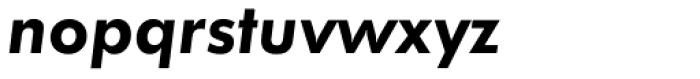 Futura Demi Oblique Font LOWERCASE