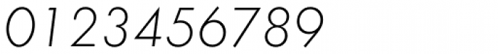 Futura EF Light Oblique Font OTHER CHARS