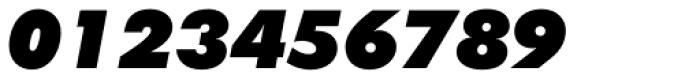 Futura ExtraBlack Italic Font OTHER CHARS