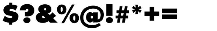 Futura ExtraBlack Font OTHER CHARS