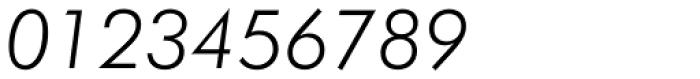 Futura Light Italic Font OTHER CHARS