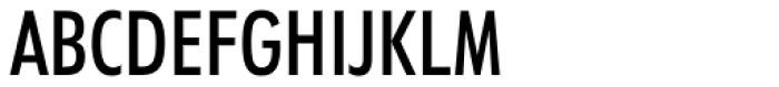 Futura Medium Condensed Font UPPERCASE