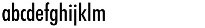Futura Medium Condensed Font LOWERCASE