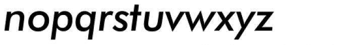Futura Medium Italic Font LOWERCASE