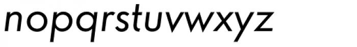 Futura ND Alt Book Oblique Font LOWERCASE