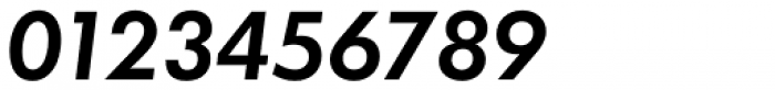 Futura ND Alt DemiBold Oblique Font OTHER CHARS