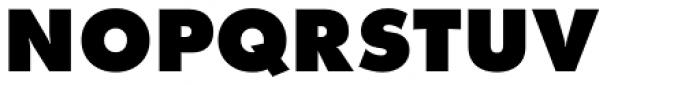 Futura ND Alt ExtraBold Font UPPERCASE
