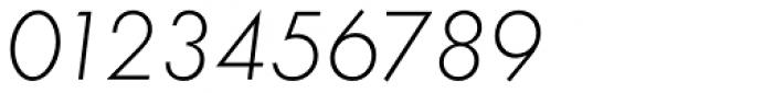 Futura ND Alt Light Oblique Font OTHER CHARS