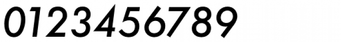 Futura ND Alt Medium Oblique Font OTHER CHARS