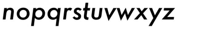 Futura ND Alt Medium Oblique Font LOWERCASE