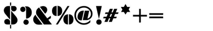 Futura ND Black Font OTHER CHARS