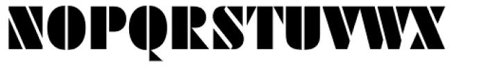 Futura ND Black Font UPPERCASE