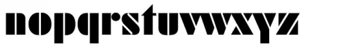 Futura ND Black Font LOWERCASE