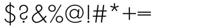 Futura ND Light Font OTHER CHARS