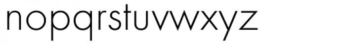 Futura ND Light Font LOWERCASE