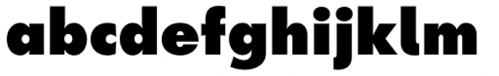 Futura Next ExtraBold Font LOWERCASE