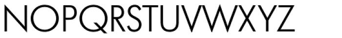 Futura No 2 D Book Font UPPERCASE