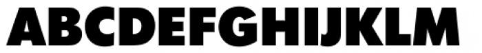 Futura No 2 D ExtraBold Font UPPERCASE