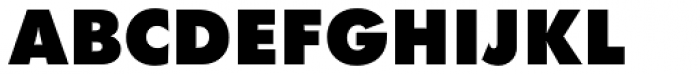 Futura PT ExtraBold Font UPPERCASE