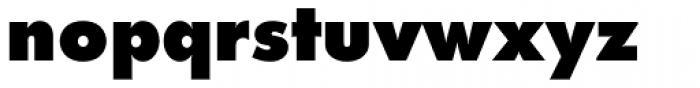 Futura PT ExtraBold Font LOWERCASE