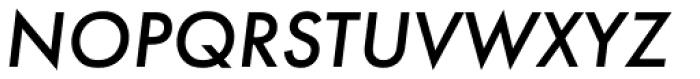 Futura PT Medium Oblique Font UPPERCASE