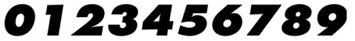 Futura Pro ExtraBold Oblique Font OTHER CHARS