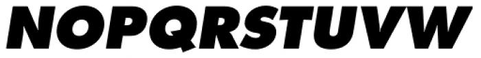 Futura Pro ExtraBold Oblique Font UPPERCASE