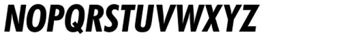 Futura SB Bold Cond Italic Font UPPERCASE