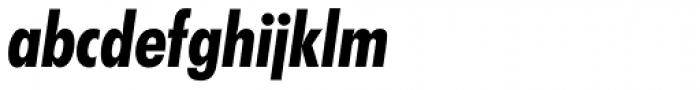 Futura SB Bold Cond Italic Font LOWERCASE