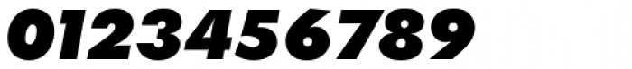 Futura SB ExtraBold Italic Font OTHER CHARS