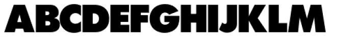 Futura SH ExtraBold Font UPPERCASE
