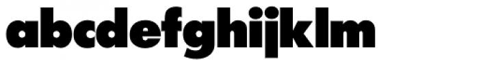 Futura SH ExtraBold Font LOWERCASE